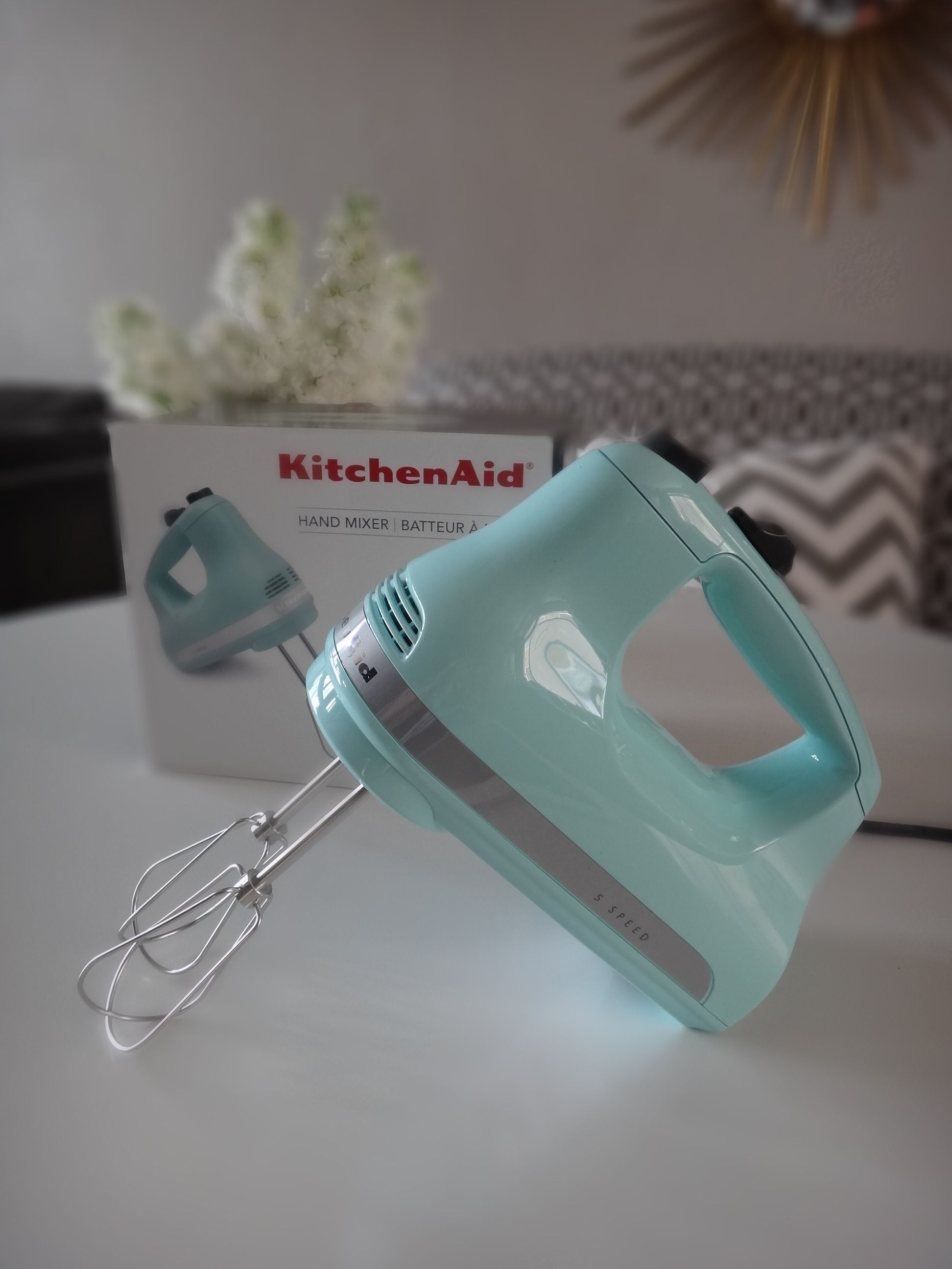 Kitchen aid aqua hand mixer my love for all things