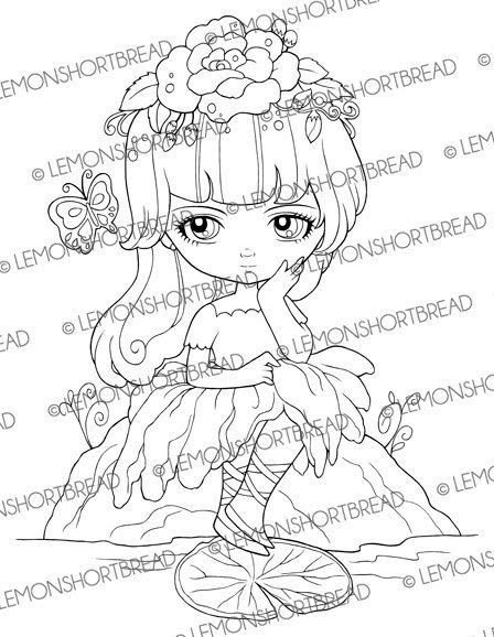 flower pixies coloring pages - photo#23