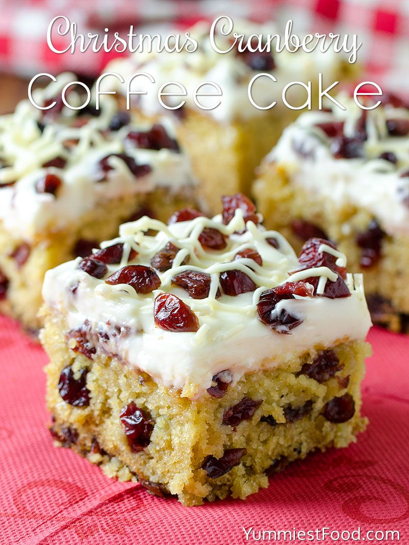 Christmas Cranberry Coffee Cake Recipe Cranberry