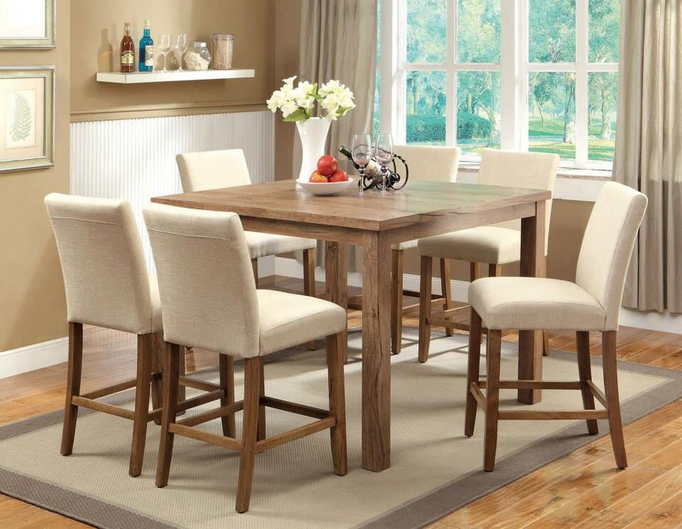 For This Beautiful Table With 6 Chair And Table Cost 486 00 Tax Available In 2 Counter Height Dining Table Counter Height Table Sets Counter Height Dining Sets