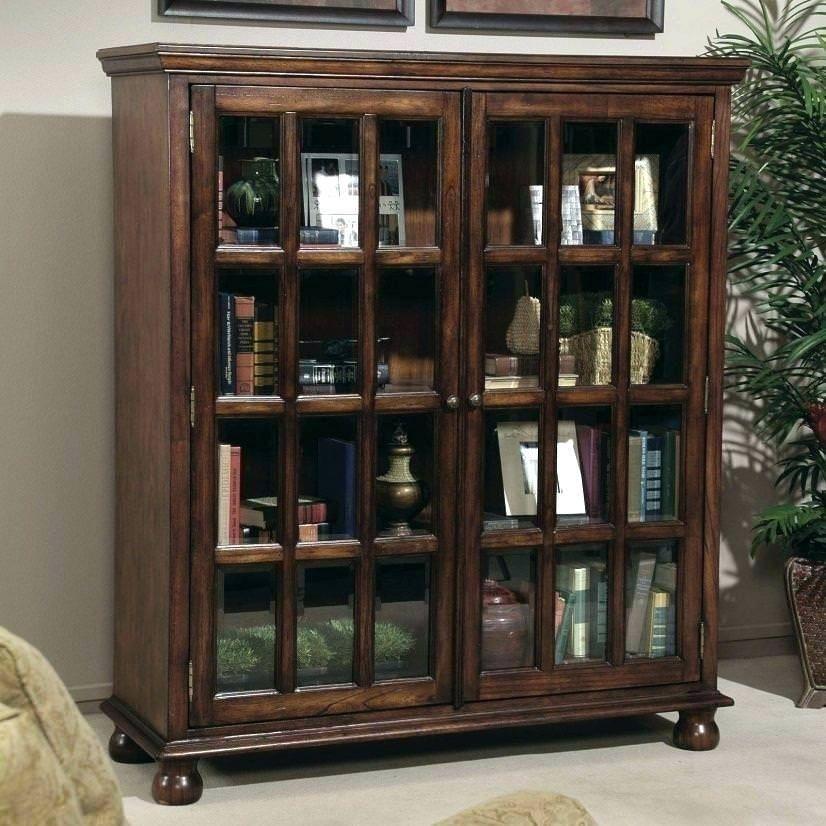 Incredible Bookcase With Glass Doors In 2020 Bookcase With Glass Doors Bookshelf Design Glass Cabinet Doors