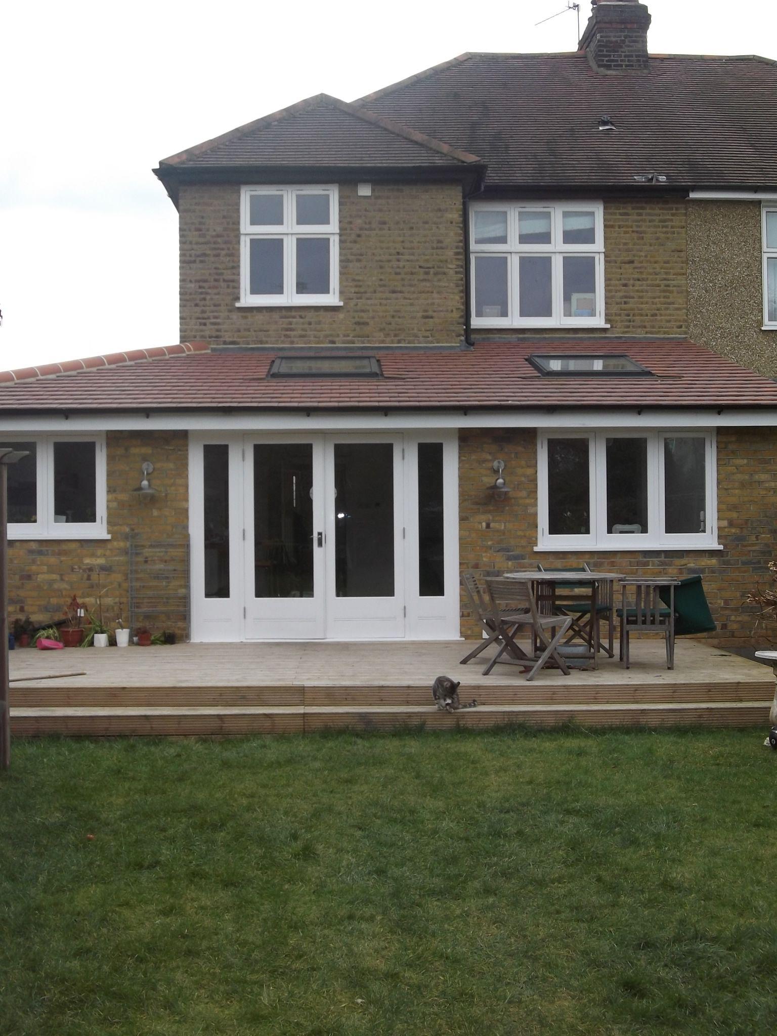 Single Storey House Design: Single Storey Wrap-around Extension