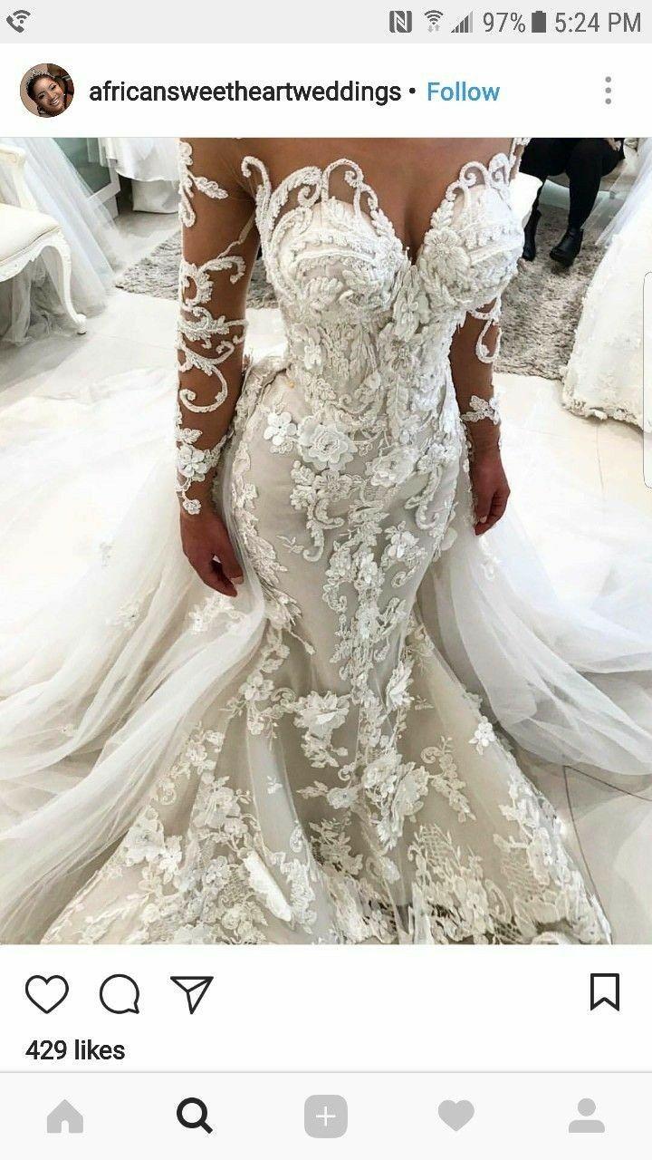 Gucci mane wife wedding dress  baby love dream wedding dress  wedding stuff  Pinterest