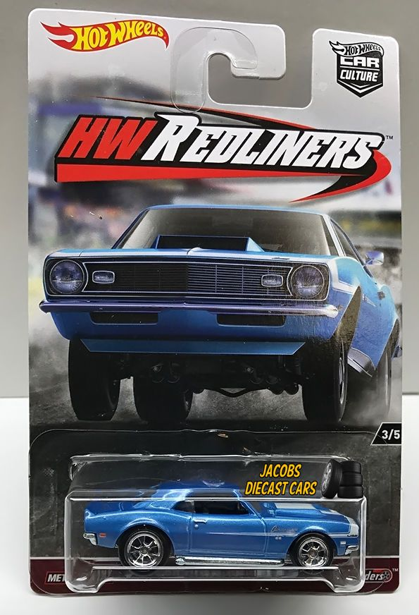 1 64 Hot Wheels Pop Culture G Case 1968 Copo Camaro Real