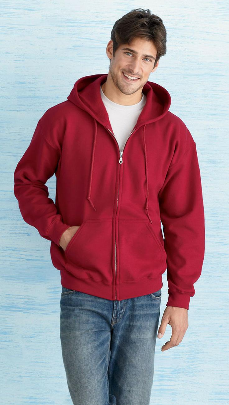 Gildan Men S 8 Oz Heavy Blend 50 50 Full Zip Hoodie Sweatshirt Formal Shirts For Men Mens Sweatshirts Latest Mens Fashion [ 1300 x 736 Pixel ]