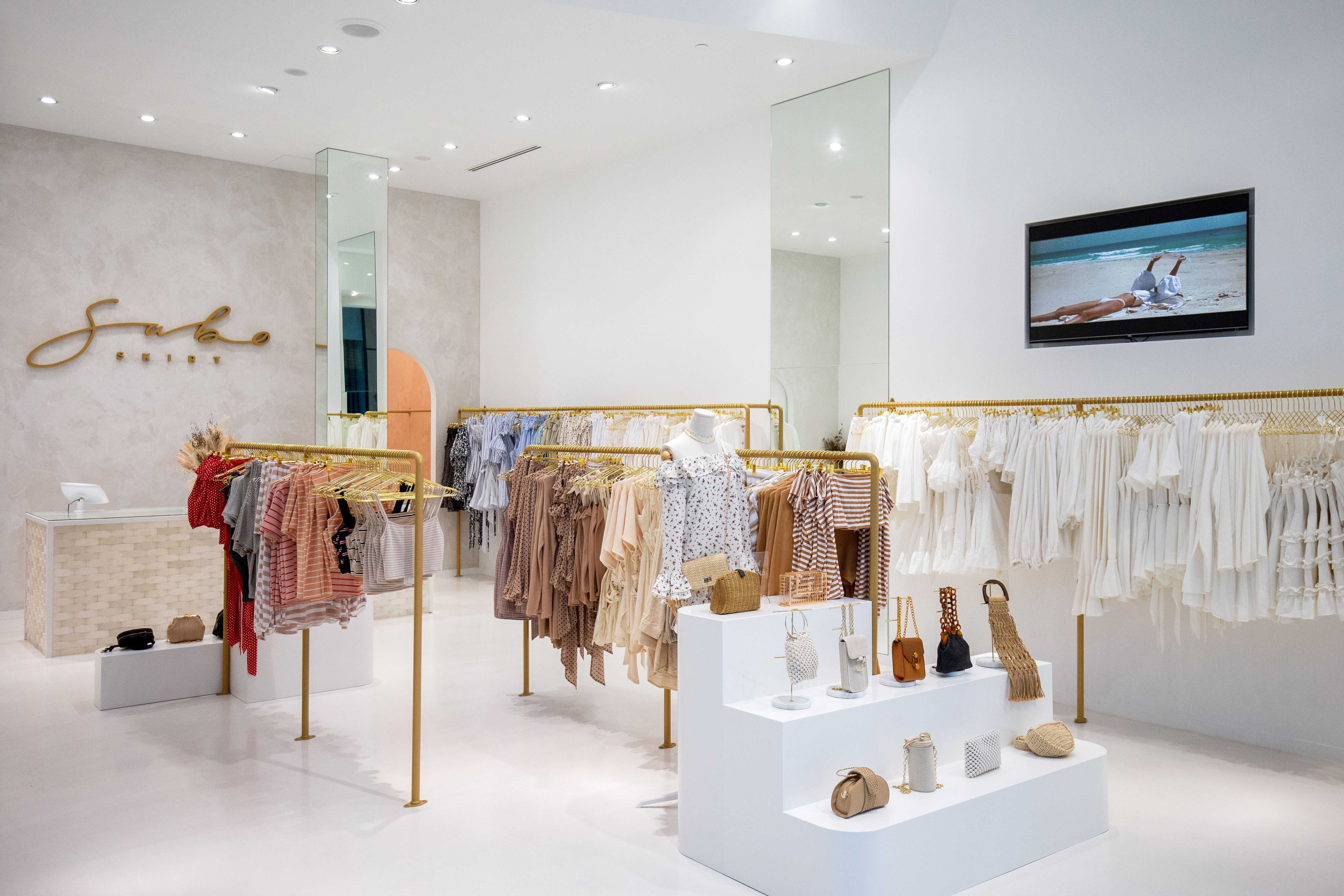 Archie Bolden Designed Sabo Skirt S Second Retail Store At Pacific