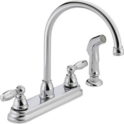Two Handle Kitchen Faucet | Kitchen faucet update Two Handle Kitchen ...