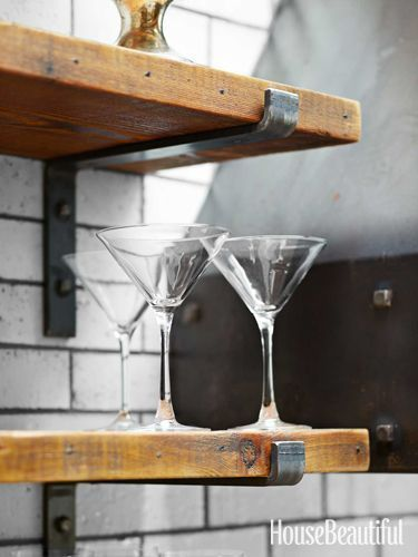 6 Metal Shelf Brackets Handmade 1 4 Thick 4x8 Inches Industrial Kitchen Design Steel Shelf Brackets Shelves