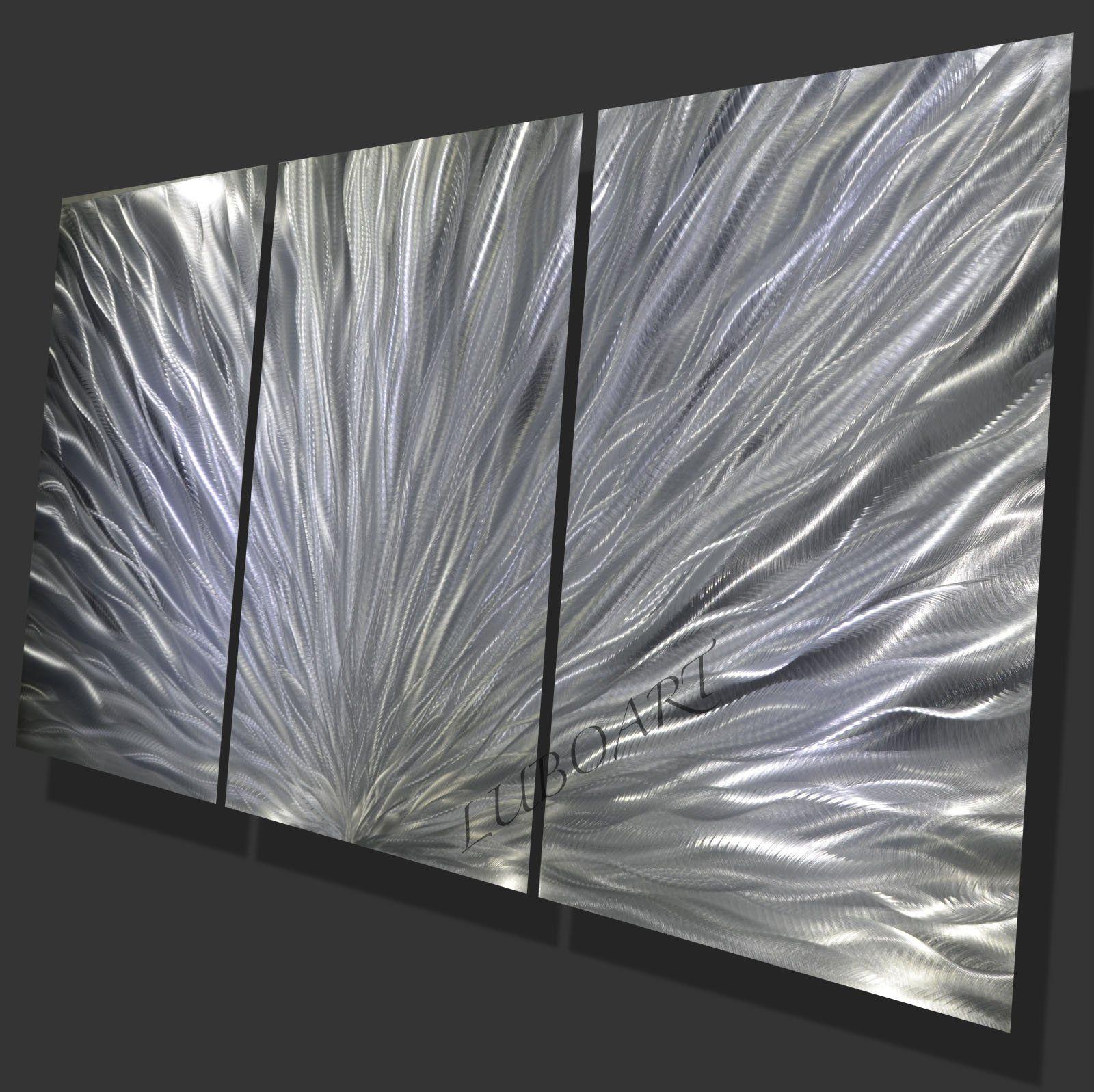 Huge metal decor modern large