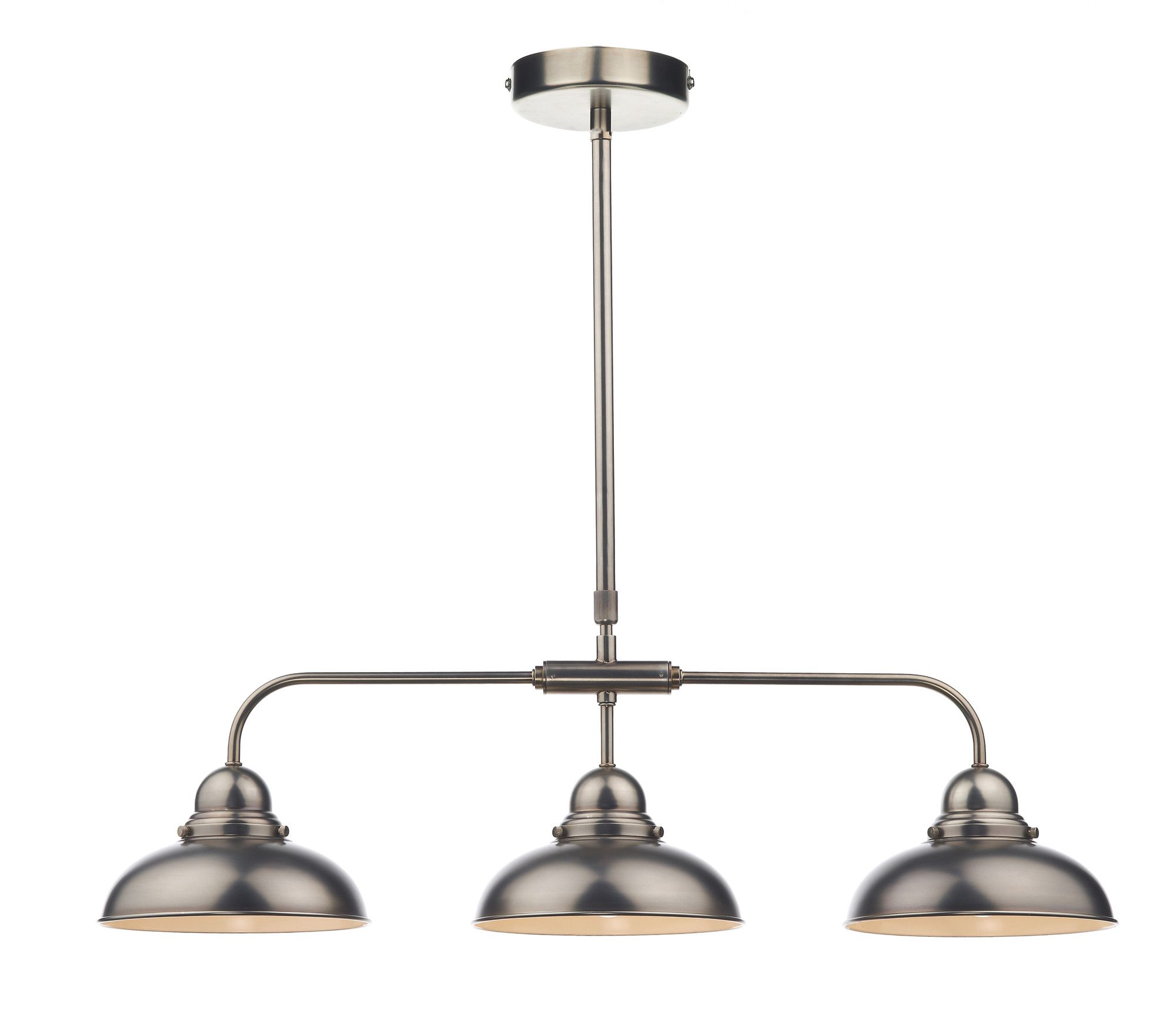 3 Light Kitchen Island Pendant Saloon Pendant Island Pendants Pendants And Lighting