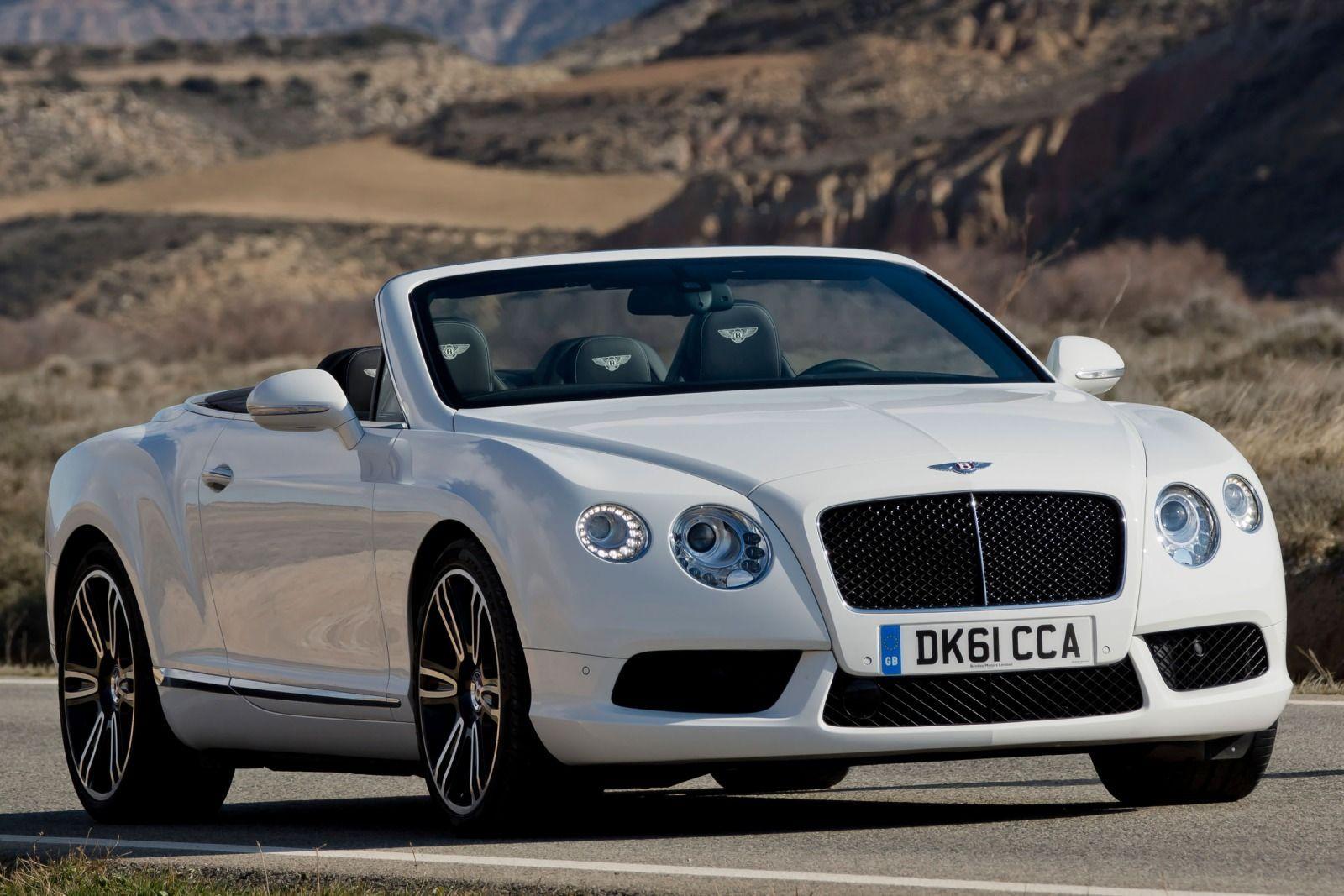 2015 Bentley Continental GT Speed Convertible White HD Wallpaper ...