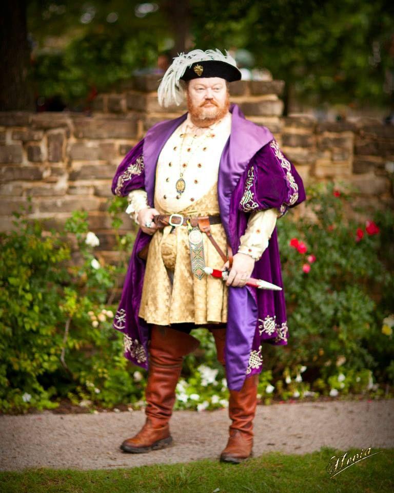 Henry VIII King of England, Scarborough Renaissance Festival