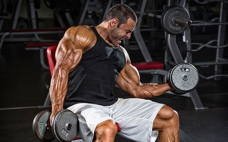 Get Serious Arm Size With This Biceps Triceps Workou