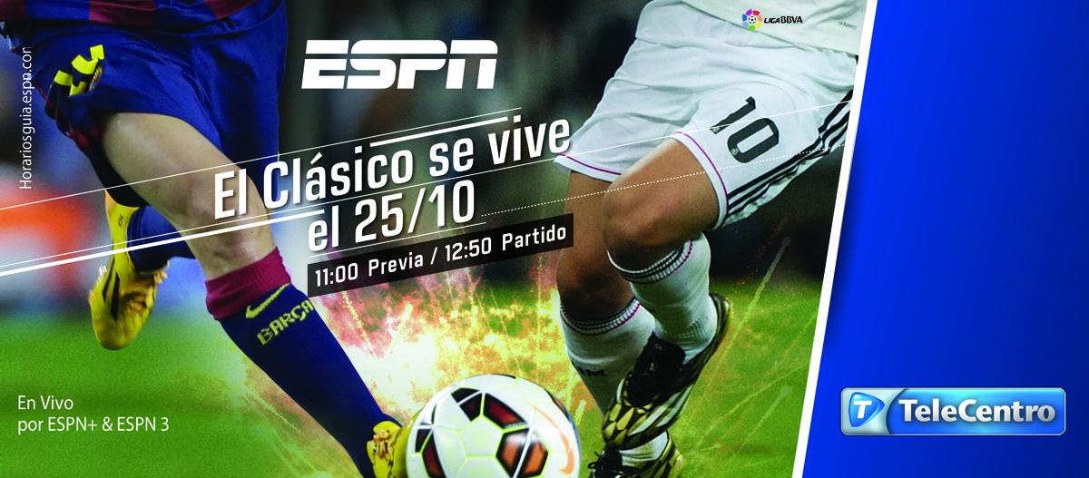 ¡El cielo de Madrid se llena de estrellas en una nueva edición del clásico español! Viví Real Madrid vs. Barcelona este sábado a las 12:50 hs. en ESPN+, ESPN3 y #TeleCentroPlay. #LaLigaxESPN