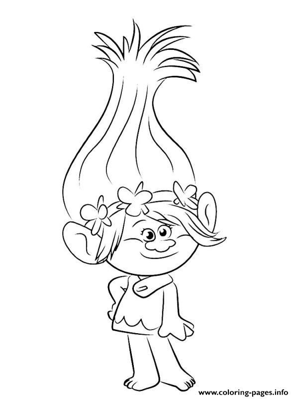 Print Trolls 2016 Coloring Pages Poppy Coloring Page, Disney Coloring  Pages, Coloring Pages