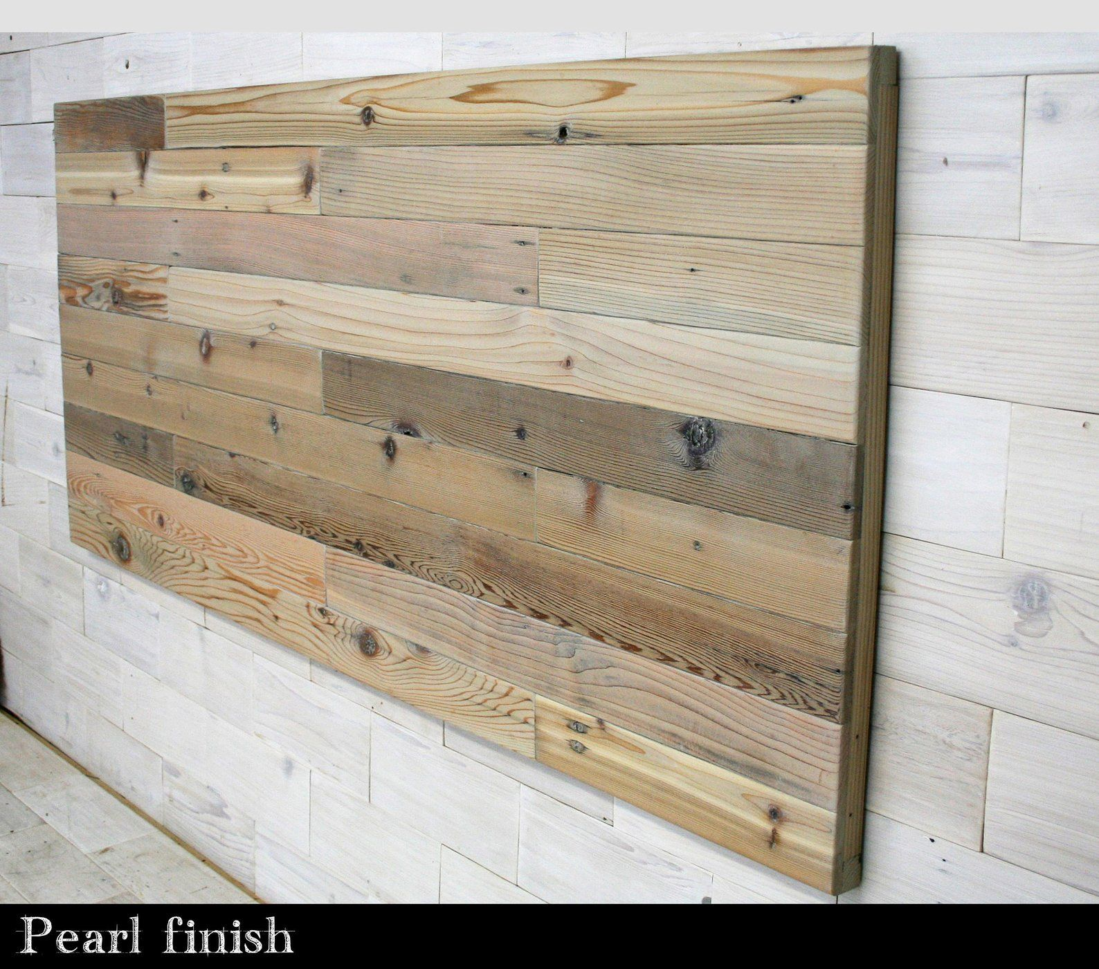 Reclaimed Wood Hanging Headboard Panel All Bed Sizes Remilled Staggered Design Headboard Wall Headboard Styles Farmhouse Bedding Sets