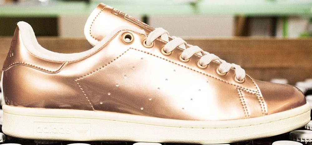 adidas original stan smith gold