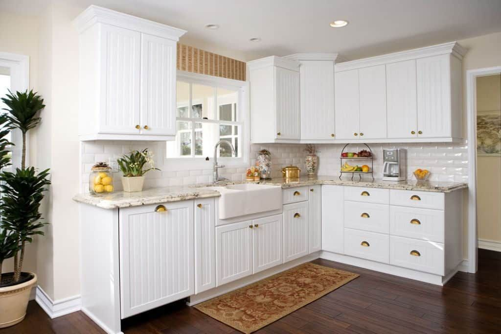 White Beadboard Kitchen Cabinet Doors Different Types Of Kitchen CabiDoors | Beadboard kitchen