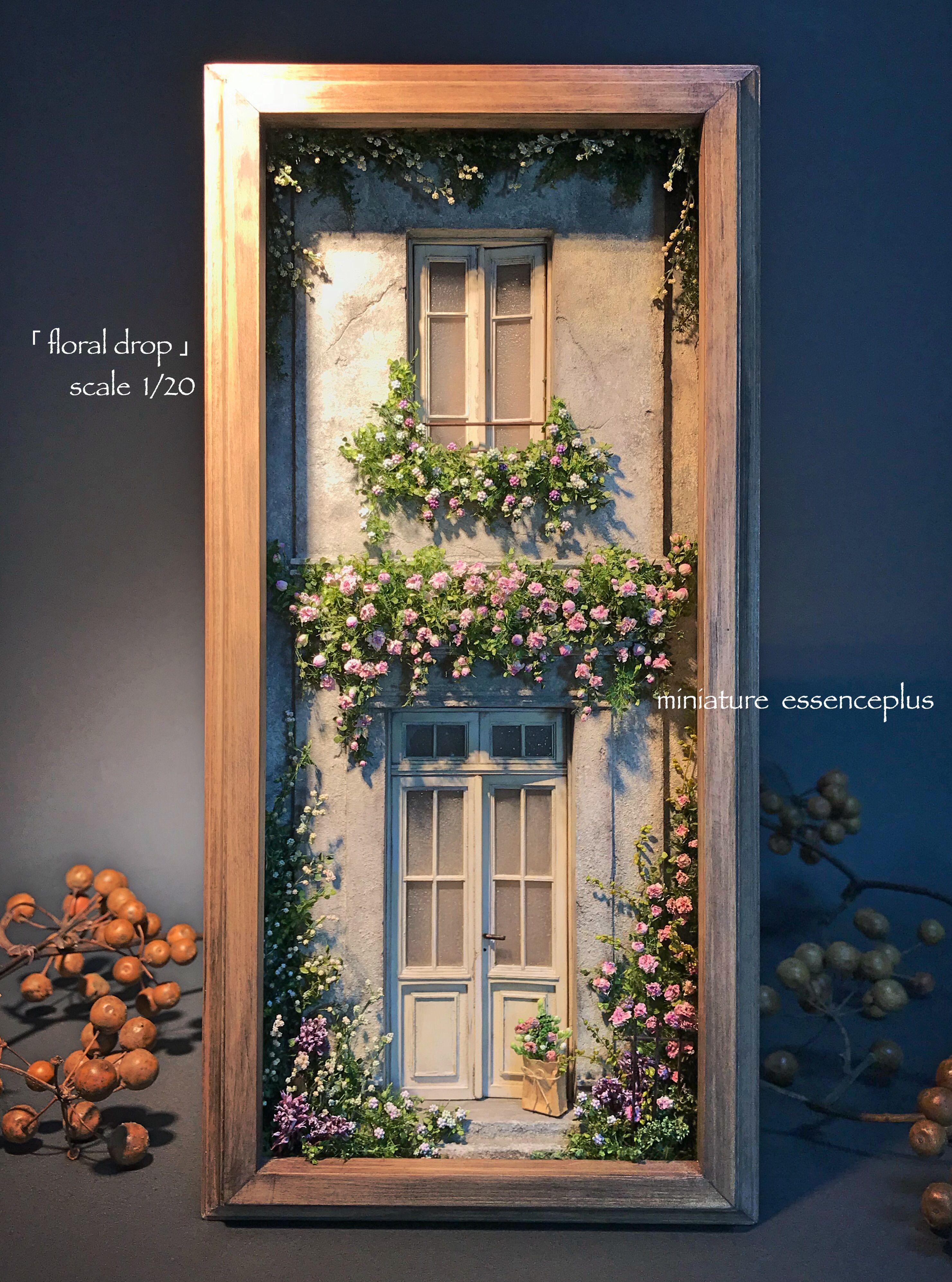 图像 – Artofit Vitrine Miniature, Miniature Rooms, Miniature Houses, Hand Crafts For Kids, 木工 Diy, Mini Doll House, House Doors, Love Craft, Fairy Dolls #miniaturerooms