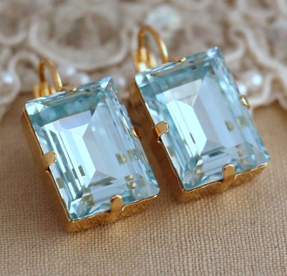 Check out this item in my Etsy shop https://www.etsy.com/il-en/listing/211881867/aquamarine-crystal-earrings-dangle-drop