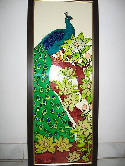 Glass painting designs and patterns glass painting for Easy glass painting designs