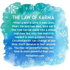 Karma Quotes and Karma Sayings: What Goes Around Comes Around