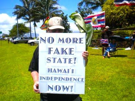 WEREN'T HAWAIIANS FOR STATEHOOD? - Find Out Here - http://HawaiiFakeState.com