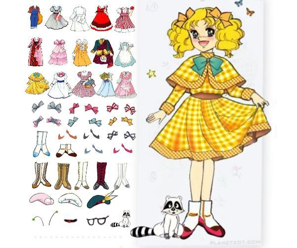 Candy Candy #paper dolls
