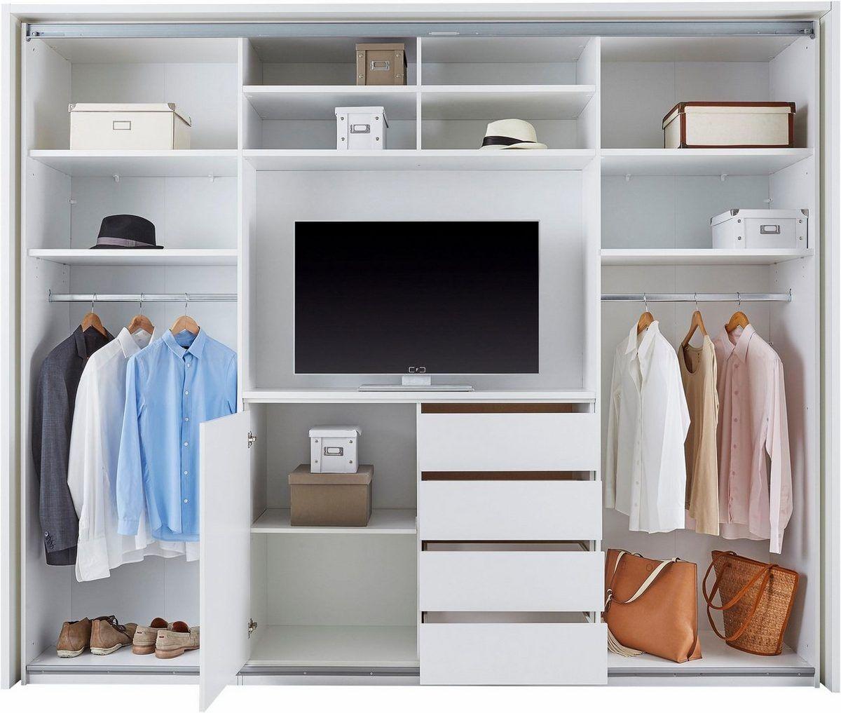 Schwebeturenschrank Mit Tv Fach Und Spiegel Kaufen En 2020 Muebles Dormitorio Decoracion De Interiores Dormitorios