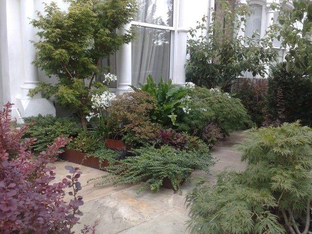 Front Garden London N4 Modern Landscape Other Metro Kalliston Limited Garden Inspiration Garden Modern Landscaping