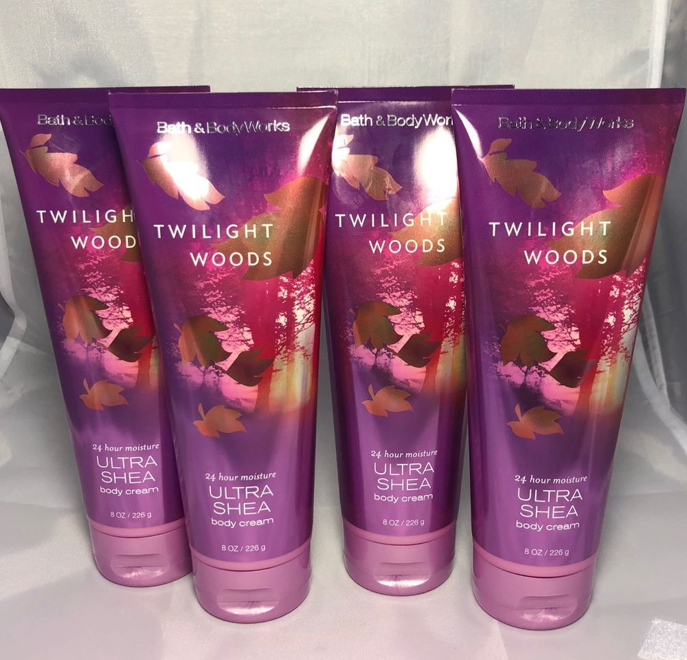 Bath Body Works Twilight Woods Creams X4 New Free Ship Spray For Men 667536214822 Ebay