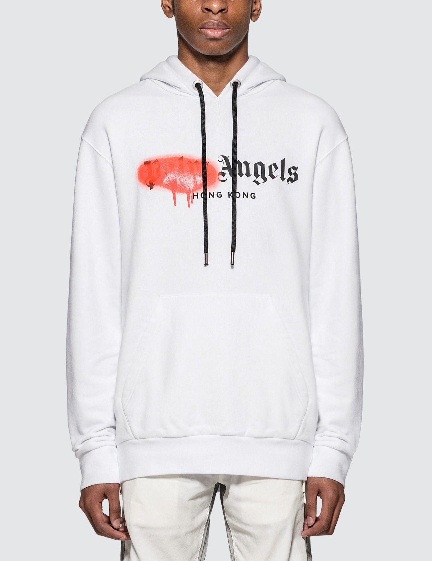 Palm Angels Kill The Bear Printed Sweatshirt White Printed Sweatshirts Bear Print Sweatshirts [ 1067 x 800 Pixel ]