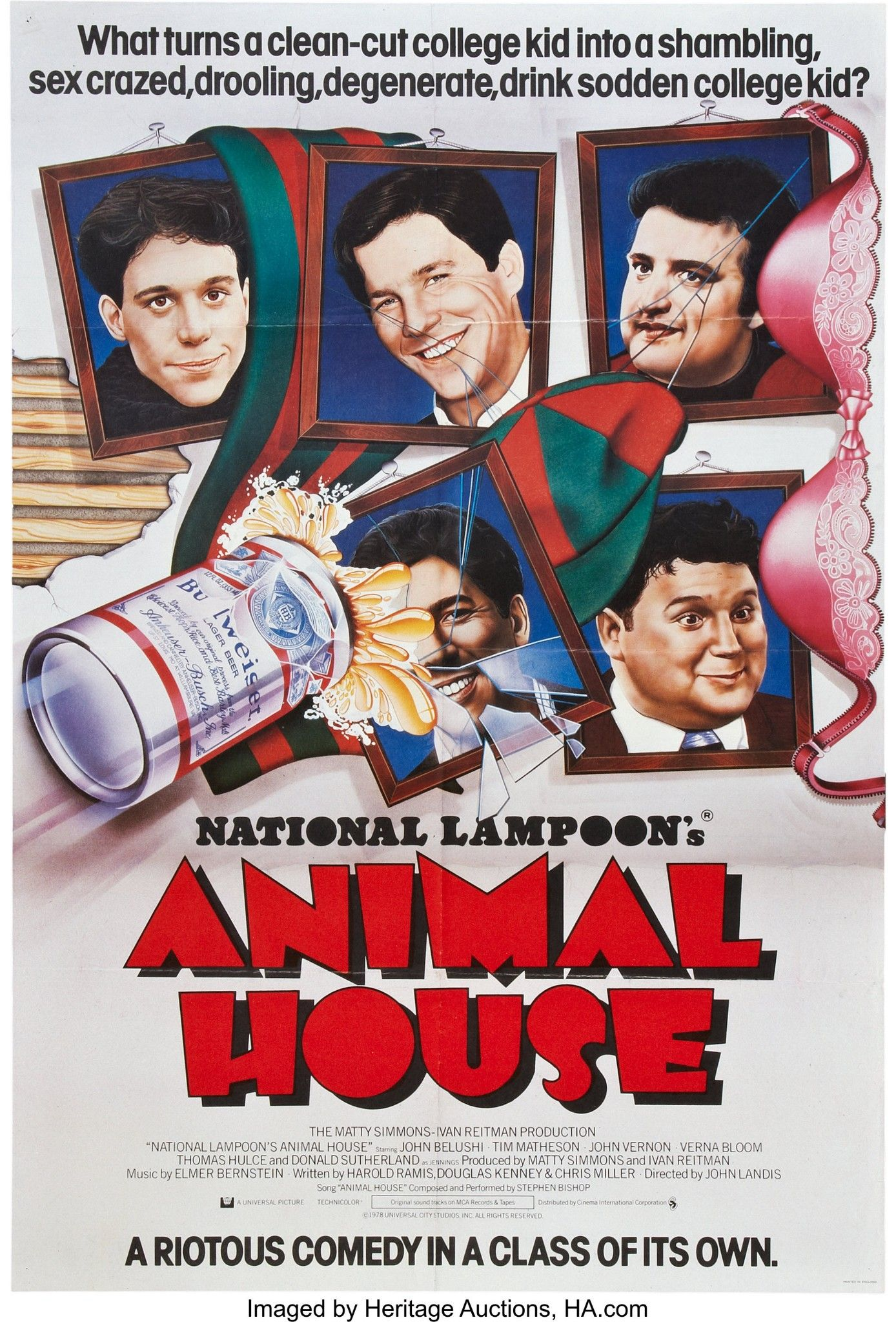 ANIMAL HOUSE (1978) | This is us movie, Movie posters ...