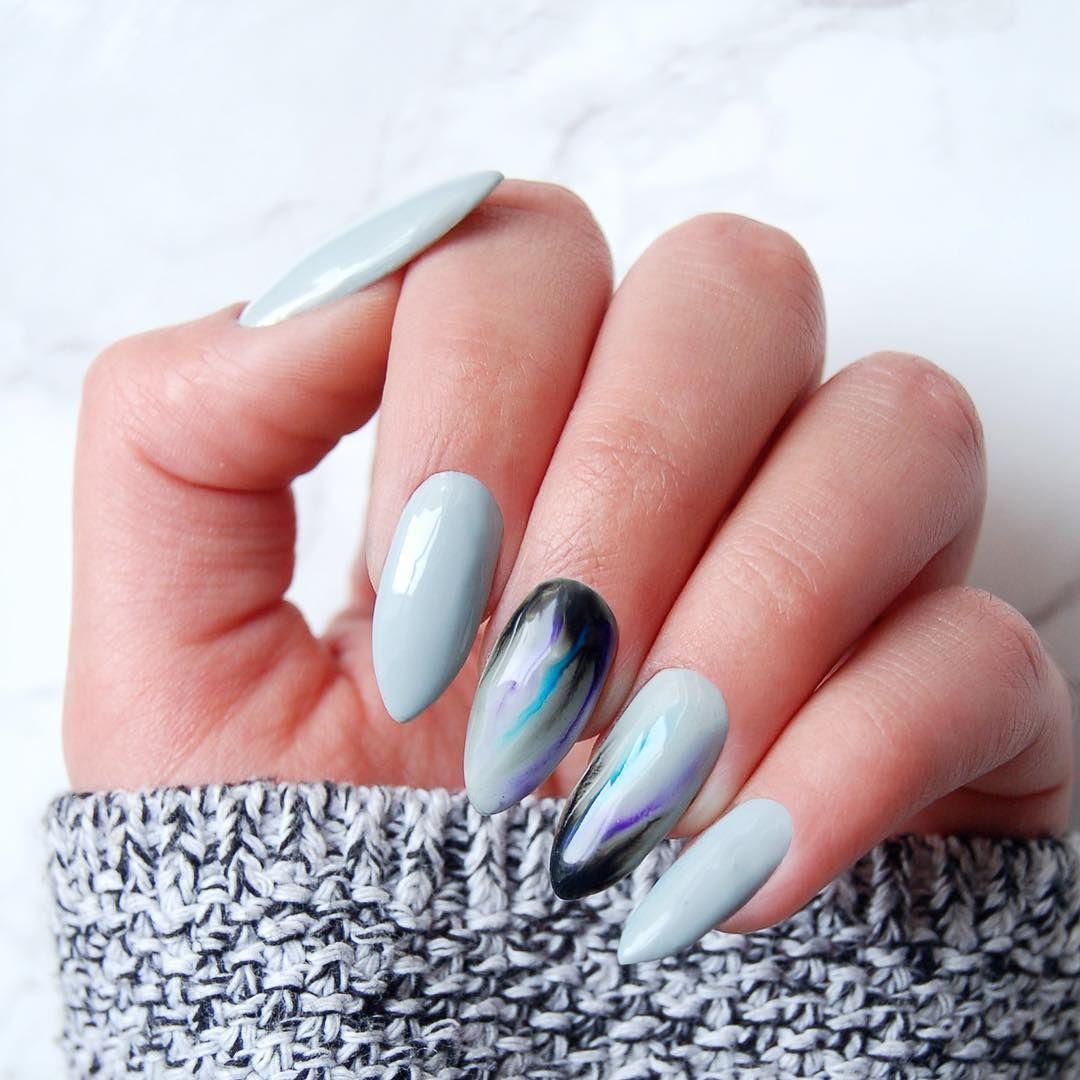 Zdobienie Aquarelle Paznokcie Hybrydowe Neonail Ongles
