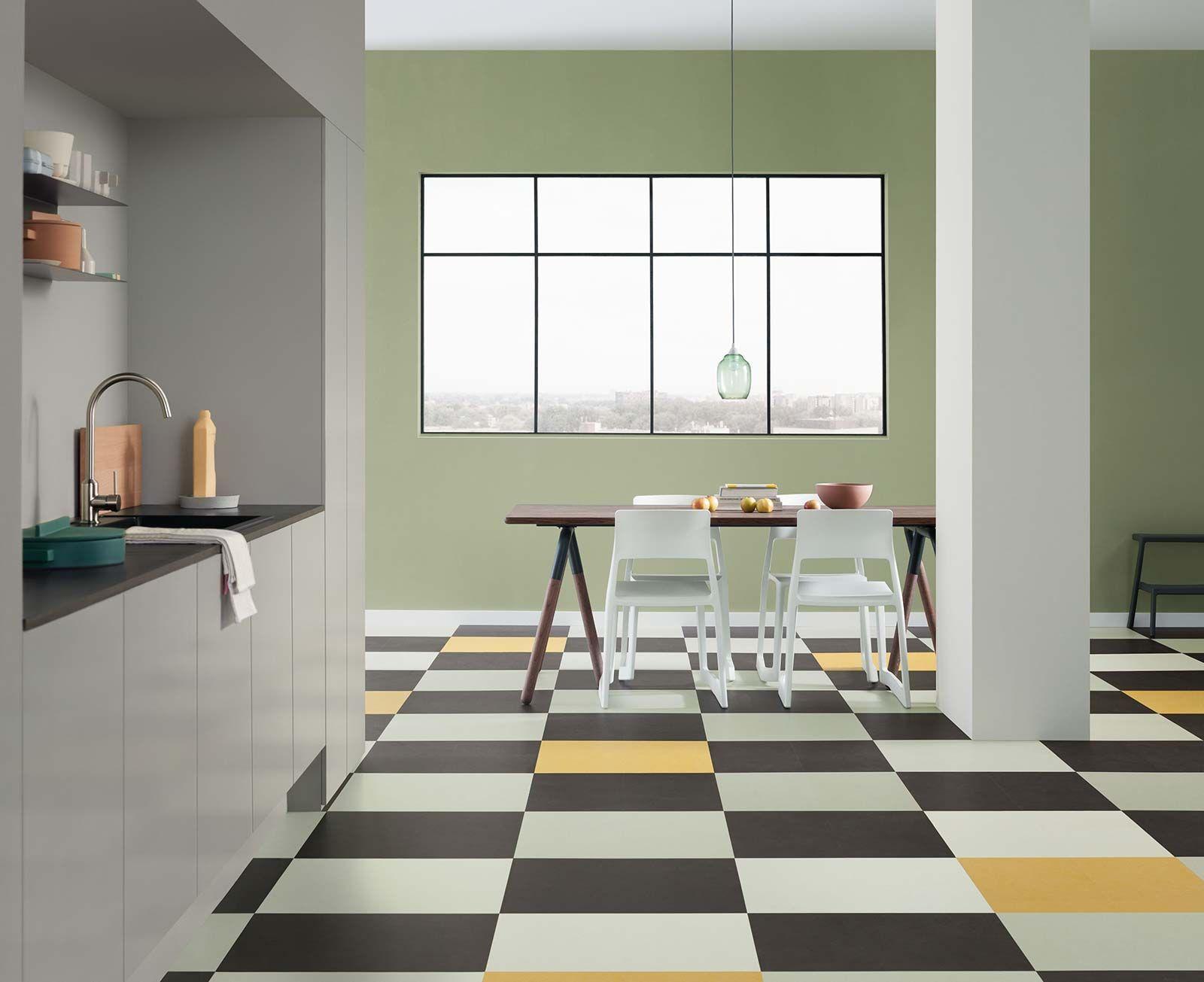 Forbo Marmoleum Click 333251 Lemon Zest Dalle Et Lame Linoleum A Clipser Linoleum Sol Plancher Vinyle Revetement Sol