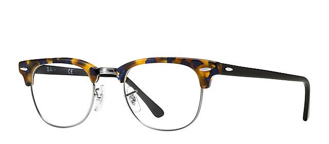 4de2cb6c4d Ray-Ban RB5154 5492 49-21 Clubmaster Fleck Optics TORTOISE eyeglasses