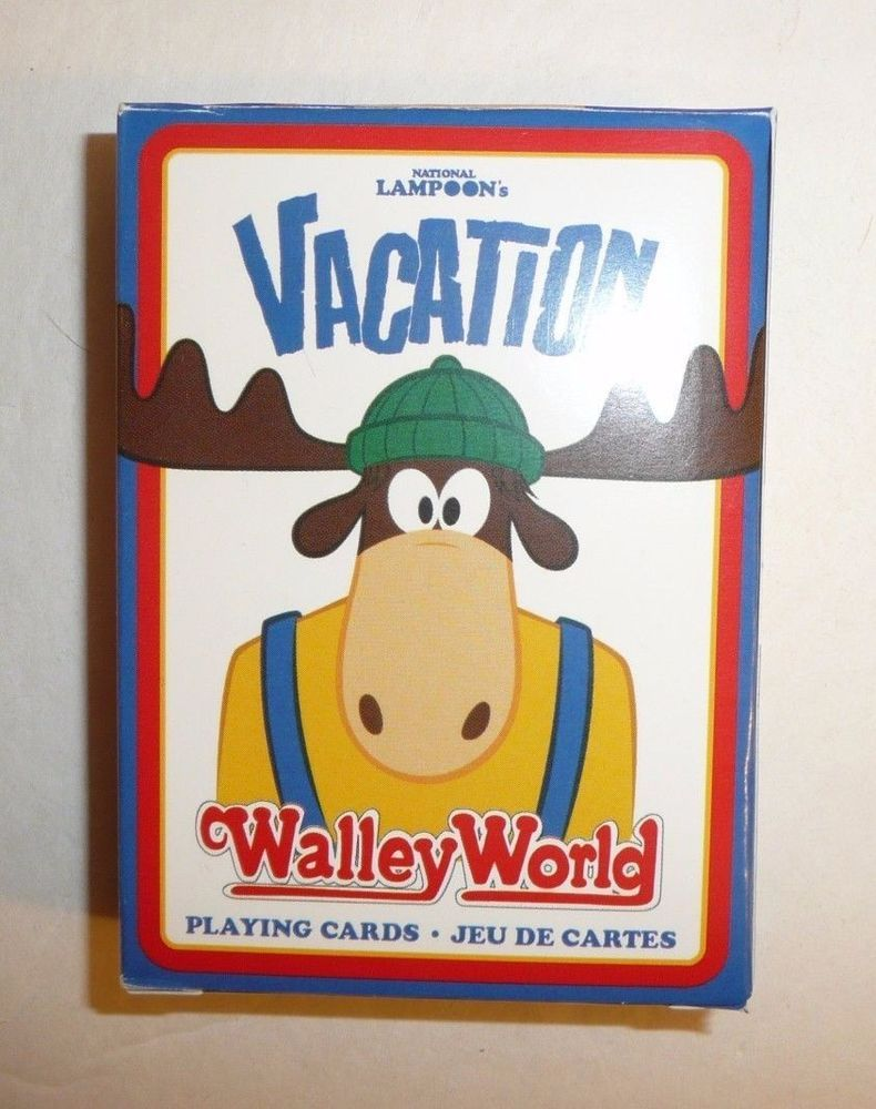 National Lampoon's Vacation WALLEY WORLD Deck Of Playing