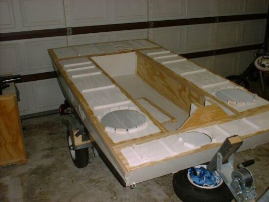 Diy Jonboat Plans Homemade Pontoon House Boat Pontoon