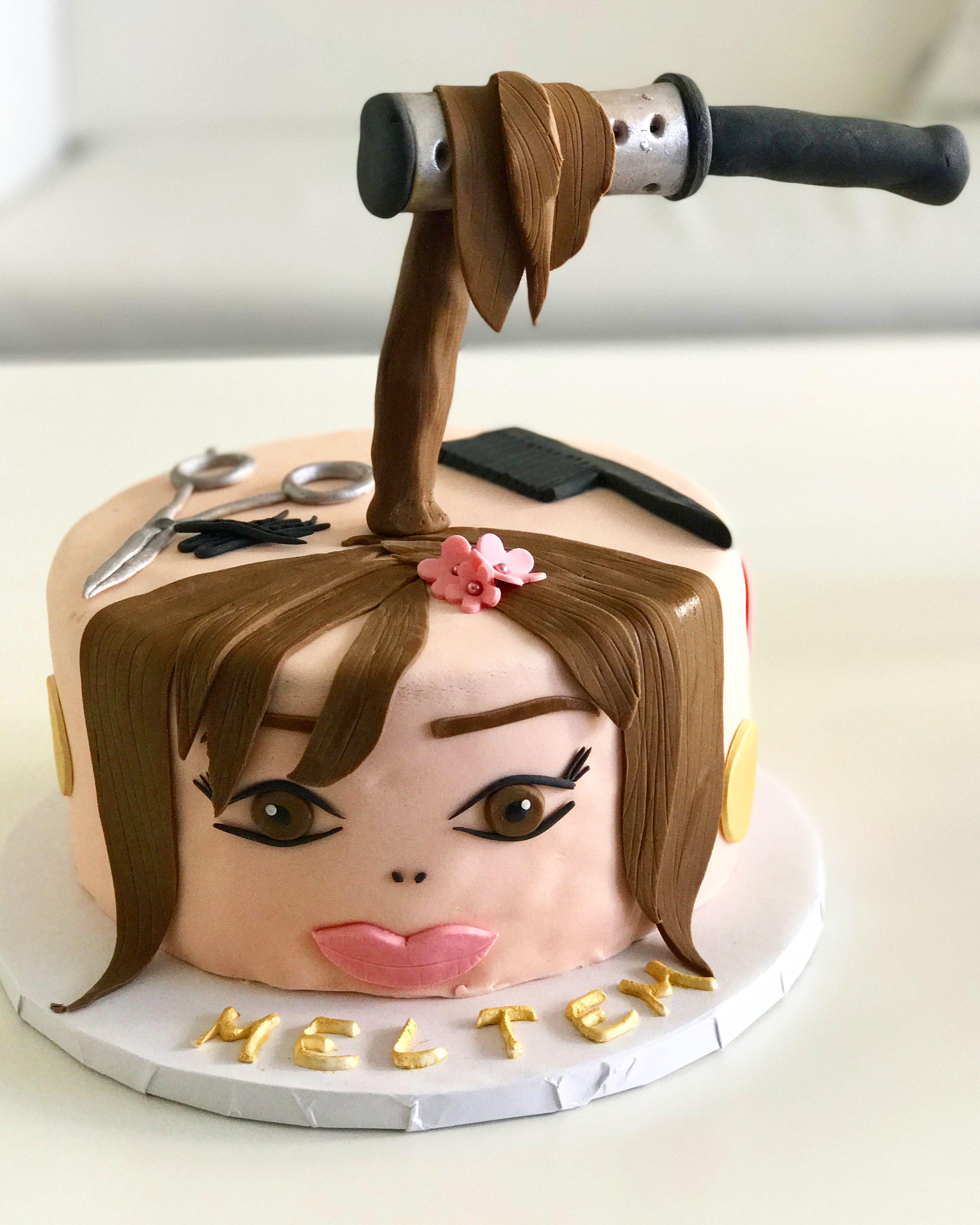 Hairdresser Cake Coiffure