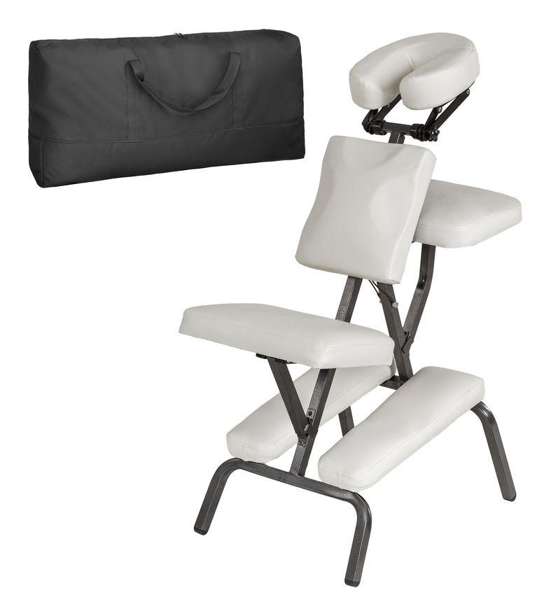 Chaise De Massage Pliante Rembourrage Epais Blanc Sac De Transport Tectake Furniture Home Decor Decor