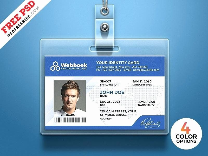 Auto insurance card template pdf awesome identity card