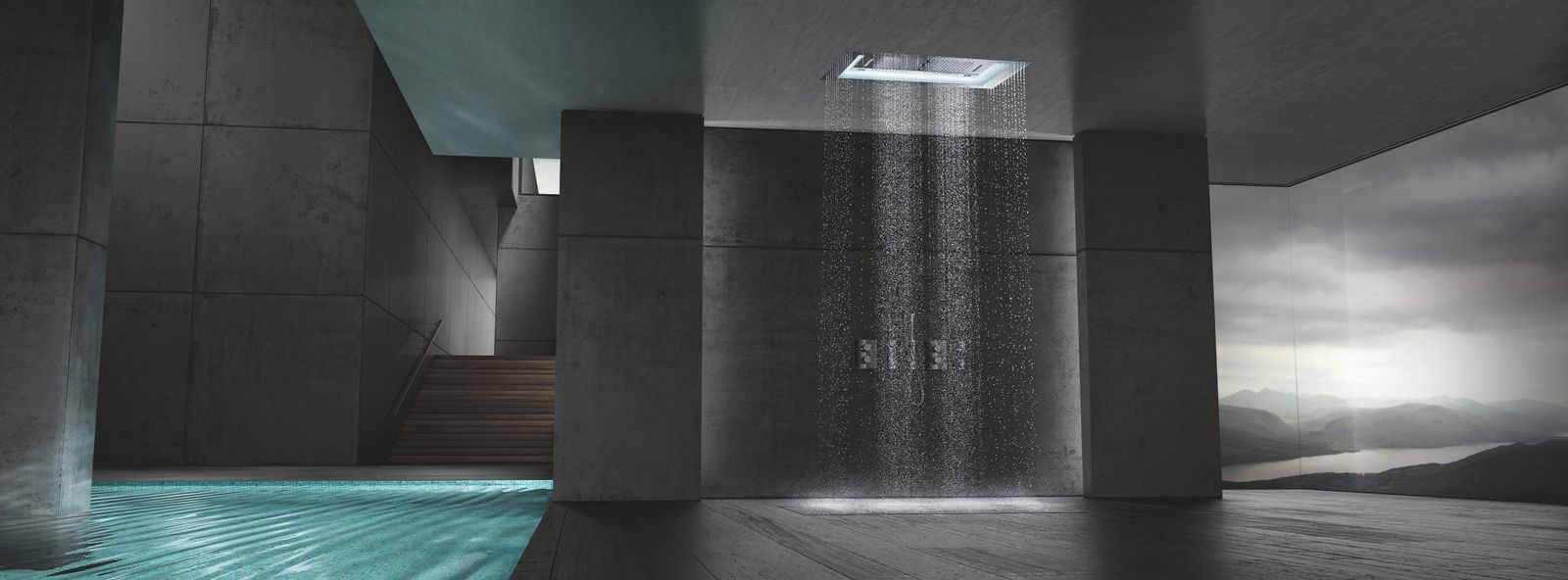 Le Nuove Docce Di Design Sono Invisibili Bathroom Inspiration