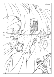 Jesus Raises Lazarus From The Dead Coloring Page Google Search Bible Coloring Pages Bible Coloring Coloring Pages