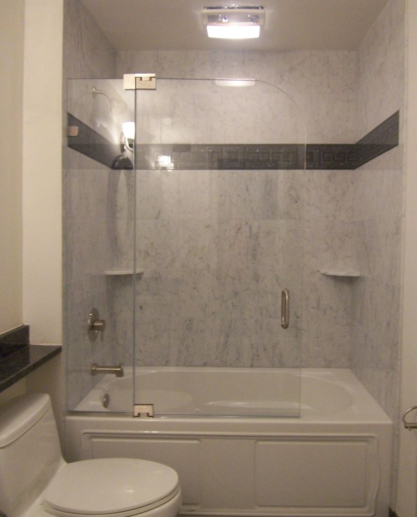 Frameless Gl Shower Door Splash Guard