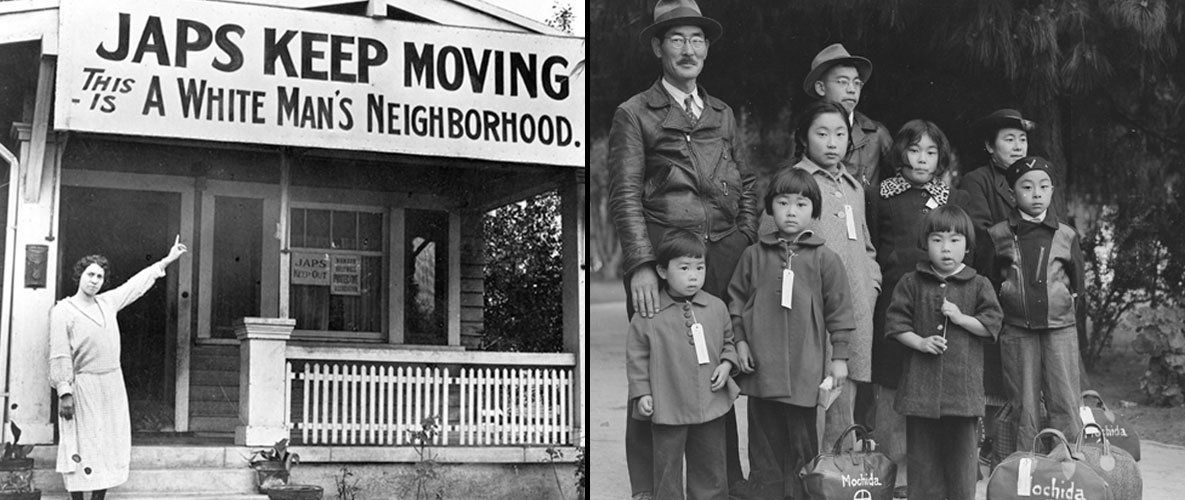 Japanese Internment Camps of WWII