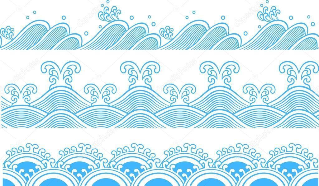 Image Result For Wave Symbol Vector Design And Type Pinterest