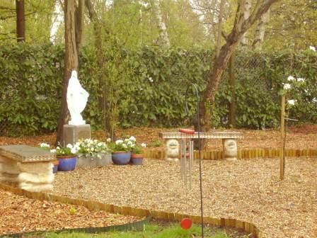 new school sensory garden and prayer garden prayer