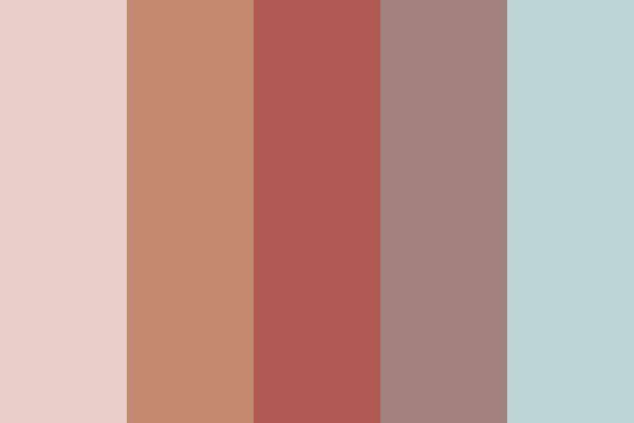 Pin Di Pastel Color Palettes