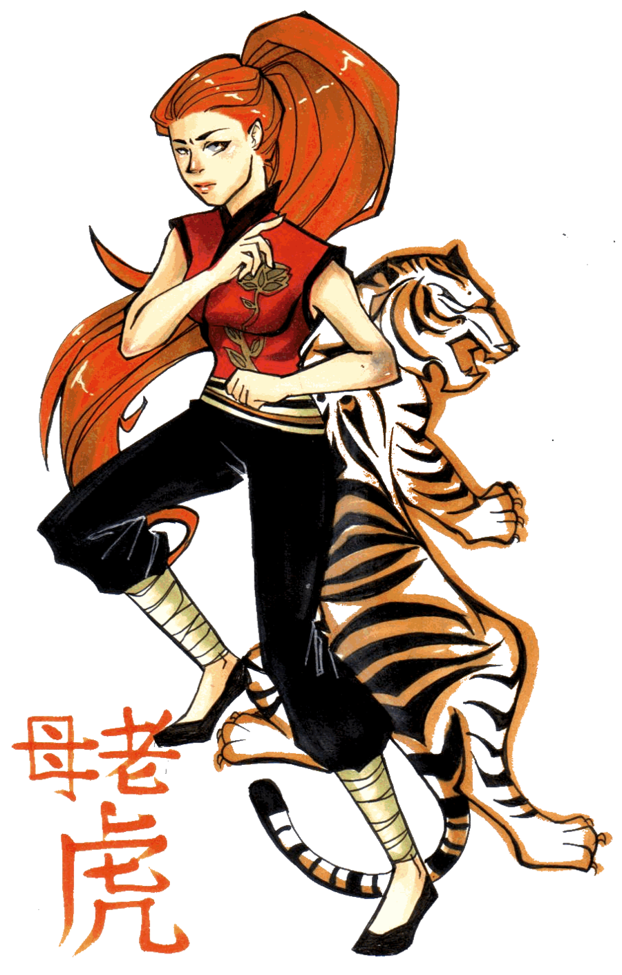 ... Kung Fu Panda. Humanized Tigress  sc 1 st  Pinterest & Humanized Tigress | Kung fu Panda | Pinterest | Kung fu panda Kung ...