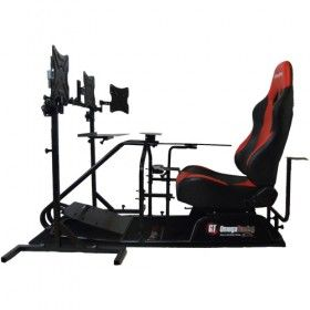 flight simulator chair 360 black rocking outdoor the best racing driving rig cockpit seat for ps3 pc xbox suitable logitech g25 g27 thrustmaster t500rs all fanatec wheels and